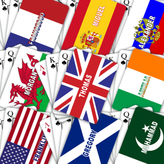 Playing Cards World Flags