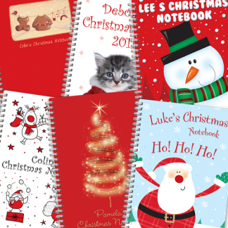 Christmas Notebooks