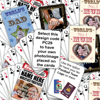 Playing Cards Own Image