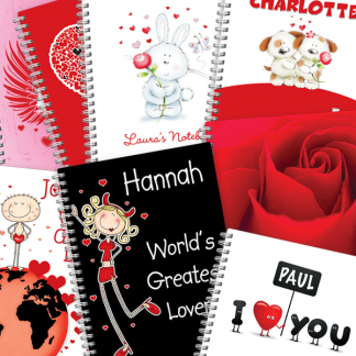 Valentine Notebooks