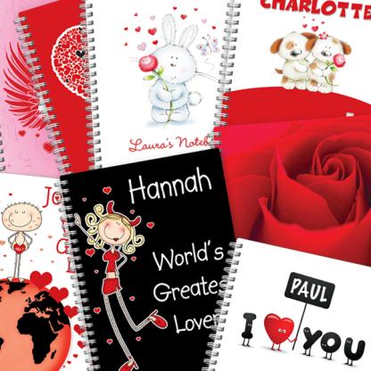 Valentine Notebooks